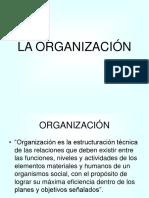 ORGANIZACION Y ESTRUCTURA DE UNA EMPRESA