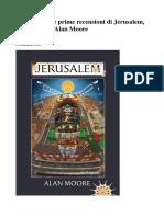 Cosa dicono le prime recensioni di Jerusalem.pdf