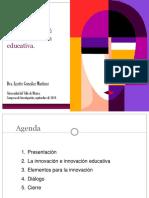 Voces sobre la Innovación Educativa