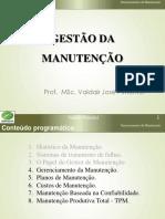 Manutenção - Aula 04 - Gerenciamento Da Manutenção