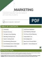 Event Marketing Benchmark Report
