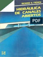FRENCH, R. - Hidráulica de Canales Abiertos (1)