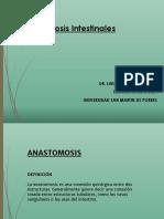 Clase 6 - Anastomosis