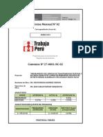 Enero 2019 Formatos Informe Mensual Trabaja Peru