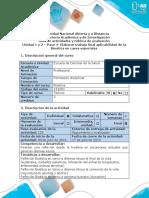 Guía de Actividades y Rúbrica de Evaluación - Paso 4- Elaborar Trabajo Final de Aplicabilidad de La Bioética en Casos Especiales