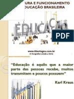 Estrutura e funcionamento da educação brasileira