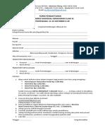 Form Pendaftaran Fres