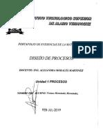 Portafolio Diseño de Proceso