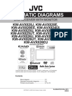 KW-AVX820 Diagrama Esquematico