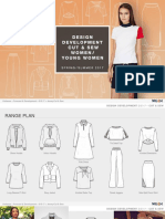 Design Development S S 17 – Cut & Sew