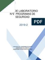 Guía de Laboratorio # 2-Semana 9