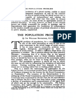 Population Problem - Beveridge