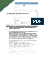 Communicative Language Teaching Worksheet