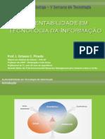 Fatec 2010 - Sustentabilidade em TI
