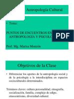 Antropología y PSICOLOGIA