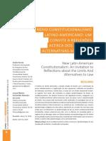 PAROLA, Giulia. Novo Constitucionalismo