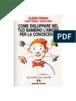 Glenn Doman_Come Sviluppare Nel Tuo Bambino L'Amore Per La Conoscenza