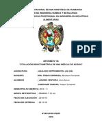 Titulacion Inductometrica de Una Mezcla de Acidos