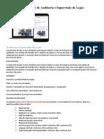 Formulário de Auditoria e Supervisão de Lojas