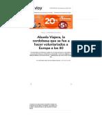 Abuela Viajera, La Cordobesa Que Se Fue a Hacer Voluntariados a Europa a Los 80