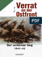Friedrich Georg - Verrat an Der Ostfront Der Verlorene Sieg