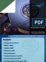 GPT - Tabela de Partição Em Discos