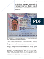 Politisches - Arms Watch - Leaked Arms Dealers' Passports Reveal Who Supplies Terrorists in Yemen- Serbia Files (Part 3) - Arms Watch