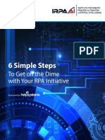 IRPAAI 6 Simple Steps to Get Off the Dime With Your RPA Initiative HelpSystems