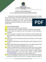 Edital Nº 03-2017 - Prosel Superior 2017.2 - IfPA SANTAREM-2
