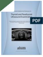 Ultrasound tiroides
