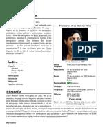 Chico Mendes – Wikipédia, A Enciclopédia Livre