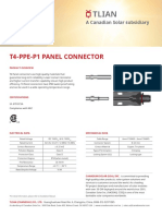 Ft. CA. t4 Ppe Panel Conector
