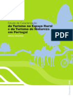 Turismo no espaço rual e de natureza em Portugal