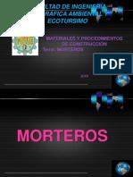 MORTEROS 19