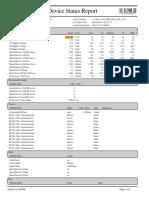 DeviceStatusReport MAC Arris DMM 1A8529