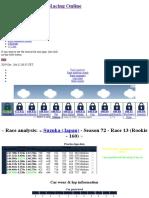 Race Analysis - Season 72 - Race 13 - Suzuka (Japan) - Grand Prix Racing Online