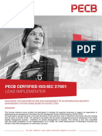 Iso 27001 Lead Implementer 4p