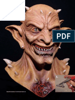 0_The Monster Makers - How to Paint a Latex Demon Mask