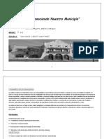 """Proyecto """"Conociendo Nuestro Municipio 2019"""""""