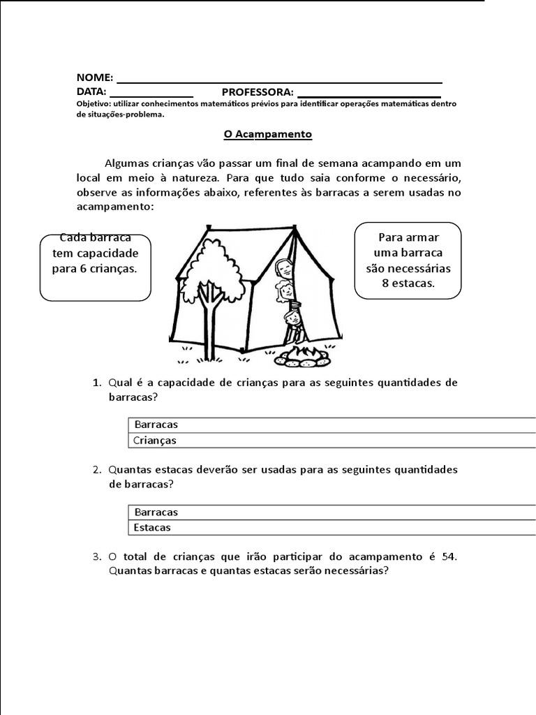 Apostila De Matematica 2º Ano Marco Docx Numeros Ensino De Matematica