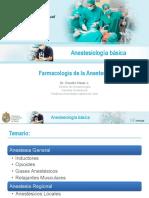 farmacos de anestesia