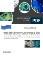 Microorganismos en El Aire