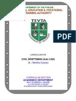 Civil Draftsman AutoCAD 6 Months FINAL