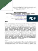 Propuesta de Implementación de Una PCTI de Primera Generación Como Vinculación Del ISER a Su Entorno