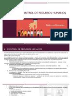 Auditoria y Control de Recursos