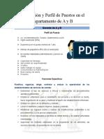 Descripción y Perfil de Puestos en el Departamento de A y B.doc