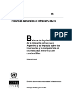 Petróleo Argentina