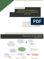 Educar en la era digital. autonomía