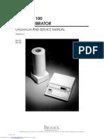 Atom Laboratory Calibrator