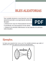 variables aleatoria(estadística)